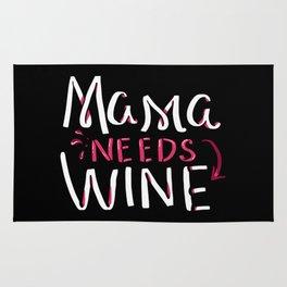 Mama Needs Wine Rug