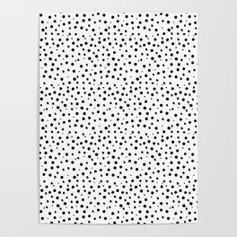 Tiny Doodle Dots Poster