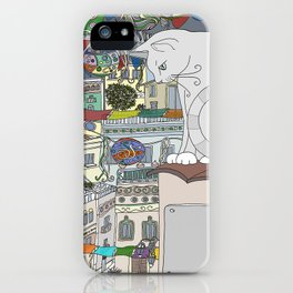 cat & party night iPhone Case
