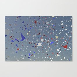 Dancing in the space Canvas Print