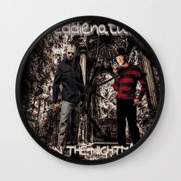 Freddienatural Wall Clock