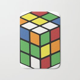 Rubik's Cube Bath Mat
