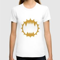 warhammer T-shirts featuring Warhammer 40k World Eaters Minimalist Print by Milos Cakovan