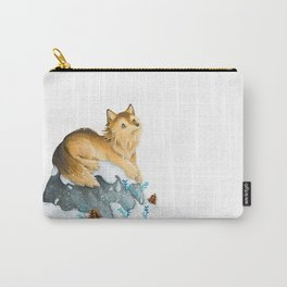 Dreamy Wolf Carry-All Pouch