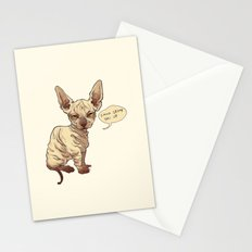 Angry Sphynx Stationery Cards