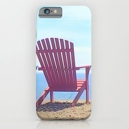 Adirondack Beach Chairs iPhone Case