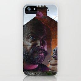 Ice Cream Man iPhone Case