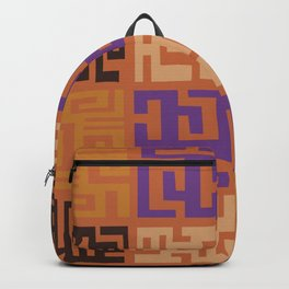 African Tribal Pattern No. 45 Backpack