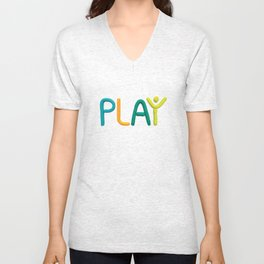 PLAY (Cool) Unisex V-Neck