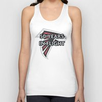 nfl Tank Tops featuring NFL - Falcons 50 Years by Katieb1013