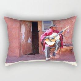 Pueblo de Machuca Rectangular Pillow