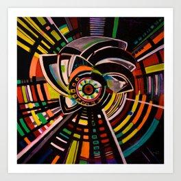 Iconic Spin Art Print
