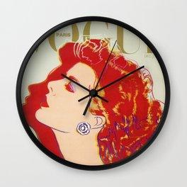 Vogue 1935 Wall Clock