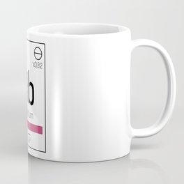 Rubidium - chemical element Coffee Mug