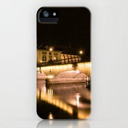 Großmünster At Night iPhone Case