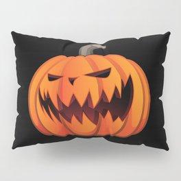 Jack O' Lantern Halloween Pumpkin Pillow Sham