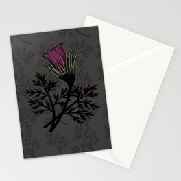 Pasque Flower Stationery Cards