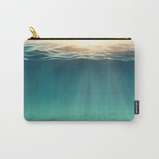 Sea Sunshine Carry-All Pouch
