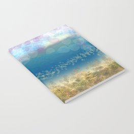 Abstract Seascape 02 wc Notebook