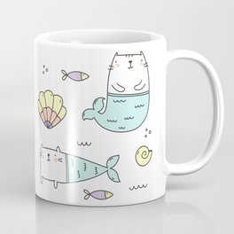Ocean Merkitties Coffee Mug