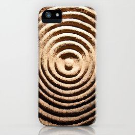 Abstract Wood Art iPhone Case