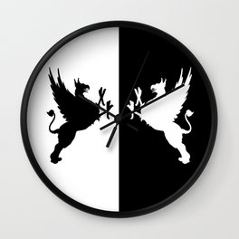 Gryphon Wall Clock