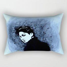 Shadow Walker Rectangular Pillow