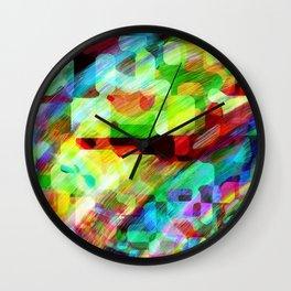 Random Abstract Wall Clock