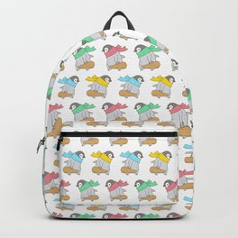 Penguin Violinist Backpack