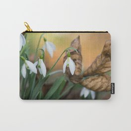 Opposites new and old in the garden Carry-All Pouch