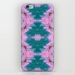 Japanese Water Gardens Fractal Abstract iPhone Skin