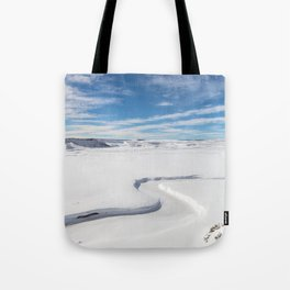 Yellowstone National Park - Trout Creek Tote Bag
