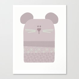 Baby Mouse Canvas Print
