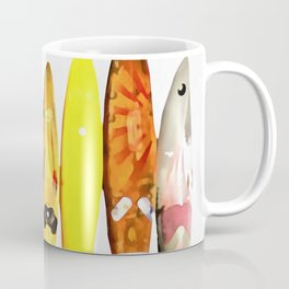 Surf Boards Painting Coffee Mug