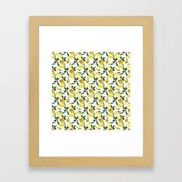 Lemons II Framed Art Print