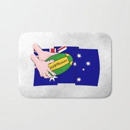 Australia Rugby Ball Bath Mat