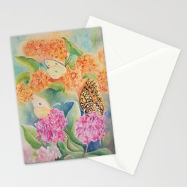 Butterfly Weed Stationery Cards