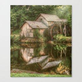 Mill on The Blue Ridge  Canvas Print