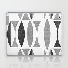 Seventies Black and White Laptop & iPad Skin