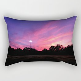 Angels in the Outfield Sunset Rectangular Pillow