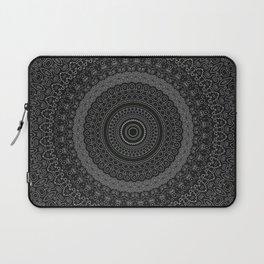 blackwhite mandala Laptop Sleeve
