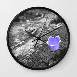 Popped Out Wall Clock