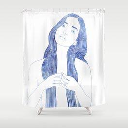 Ianassa Shower Curtain