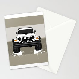 [JEEP] White TJ Stationery Cards