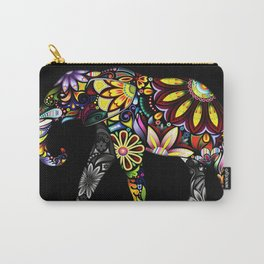 Aztec Elephant Carry-All Pouch