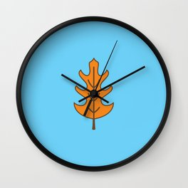 Oak Leaf Wall Clock