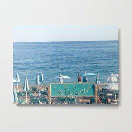 Bonjour, beach. #2 Metal Print