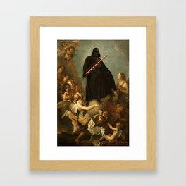 Savior | Darth Vader Framed Art Print
