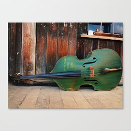 Double Bass Canvas Print