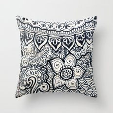 Four sides of a box (i) Throw Pillow